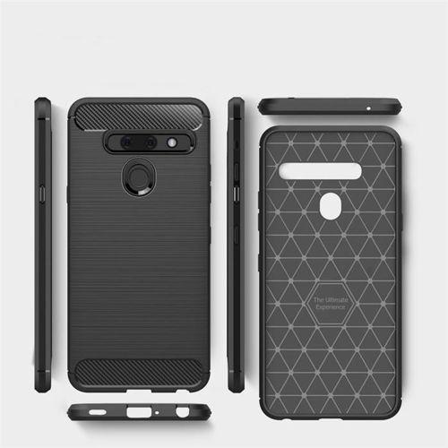 TECH-PROTECT etui TPUCARBON LG G8S BLACK