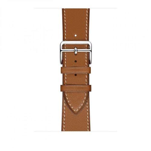 TECH-PROTECT opaska pasek bransoleta HERMS APPLE WATCH 1/2/3 BROWN 42mm