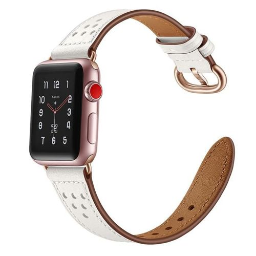 TECH-PROTECT opaska pasek bransoleta MILANO APPLE WATCH 1/2/3/4 (38/40MM) WHITE