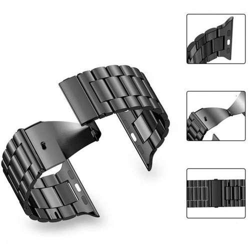 TECH-PROTECT opaska pasek bransoleta NYLON APPLE WATCH 1/2/3 BLACK
