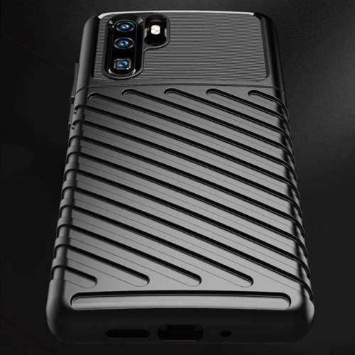 Thunder Case elastyczne pancerne etui pokrowiec Huawei P30 Pro zielony