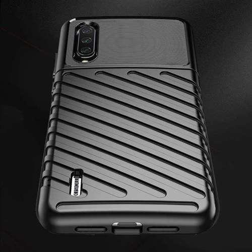 Thunder Case elastyczne pancerne etui pokrowiec Xiaomi Mi CC9e / Xiaomi Mi A3 czarny