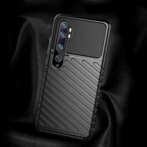 Thunder Case elastyczne pancerne etui pokrowiec Xiaomi Mi Note 10 / Mi Note 10 Pro / Mi CC9 Pro zielony
