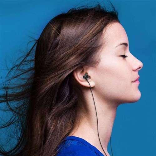 WK Design Y6 dokanałowe słuchawki 3.5mm mini jack zestaw słuchawkowy z pilotem czarny (Y6 black)