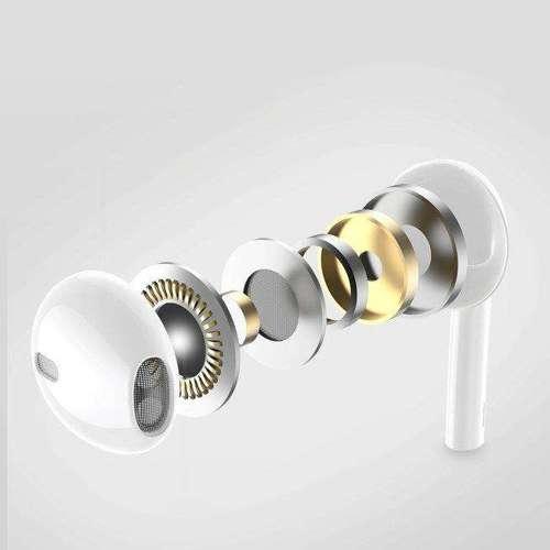 WK Design przewodowe słuchawki douszne Lightning biały (Y19 white)