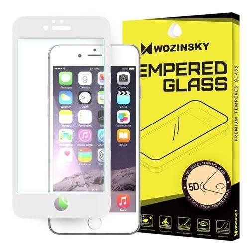 Wozinsky PRO+ super wytrzymałe szkło hartowane 5D Full Glue na cały ekran z ramką iPhone 6S / 6 biały