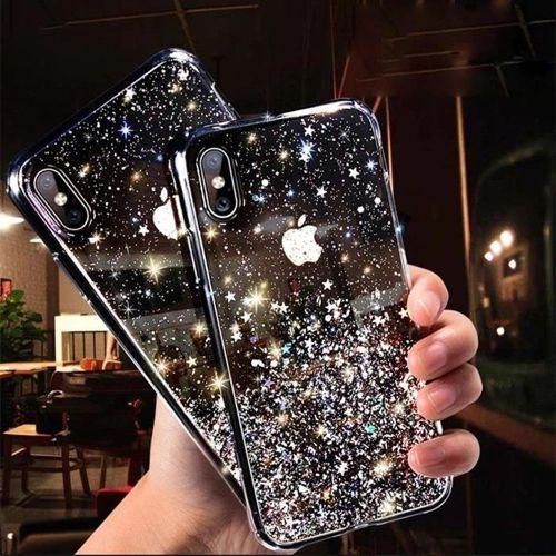 Wozinsky Star Glitter błyszczące etui pokrowiec z brokatem Samsung Galaxy A40 przezroczysty