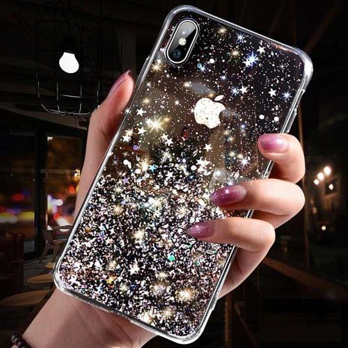 Wozinsky Star Glitter błyszczące etui pokrowiec z brokatem Samsung Galaxy A70 zielony