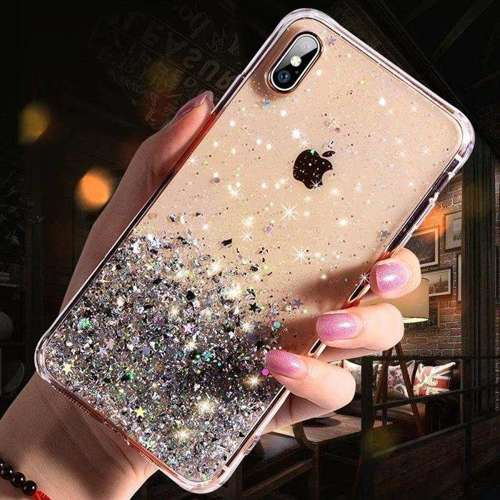Wozinsky Star Glitter błyszczące etui pokrowiec z brokatem iPhone 11 Pro przezroczysty