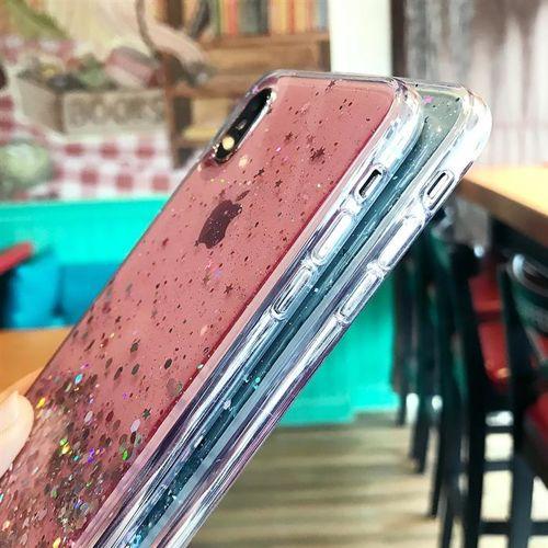 Wozinsky Star Glitter błyszczące etui pokrowiec z brokatem iPhone 11 czarny