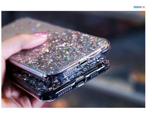 Wozinsky Star Glitter błyszczące etui pokrowiec z brokatem iPhone XR zielony
