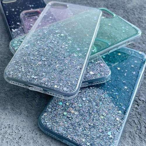 Wozinsky Star Glitter błyszczące etui pokrowiec z brokatem iPhone XS Max czarny
