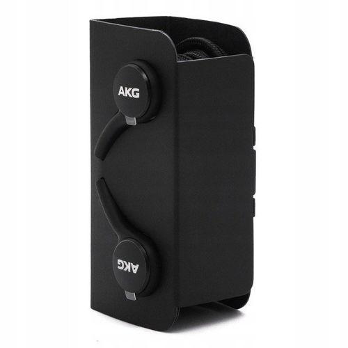 Zestaw słuchawkowy SAMSUNG GALAXY NOTE 10 / 10+ PLUS USB Typ C AKG EO-IG955 słuchawki dokanałowe BULK czarny