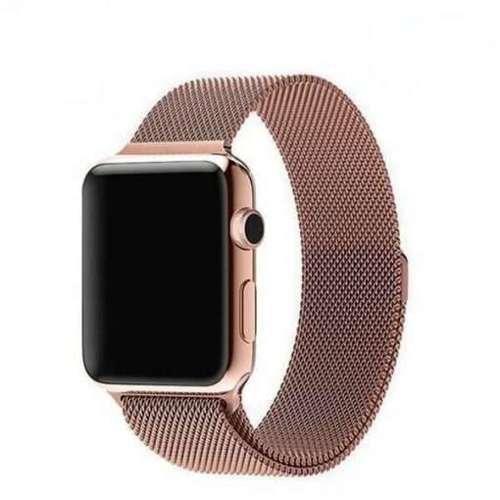 opaska pasek bransoleta MILANESEBAND Apple Watch 1/2/3/4/5/6/SE 38/40mm ROSE GOLD