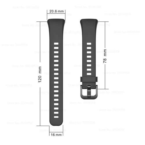 opaska pasek bransoleta SMOOTHBAND Huawei Honor BAND 6 beżowy